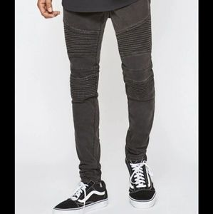 Pacsun Active Stretch Stacked Skinny Jeans Mens